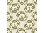 Cole & Son WP: Ardmore Cameos 109/9041.CS.0 Stone & Green