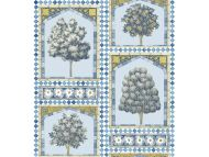 Cole & Son WP: Martyn Lawrence Bullard Sultan's Palace 113/10029.CS.0 China Blue & Ochre