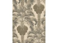 Cole & Son WP: Martyn Lawrence Bullard Hollywood Palm 113/1003.CS.0 Silver & Charcoal