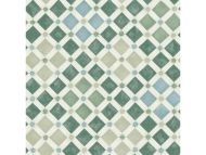 Cole & Son WP: Martyn Lawrence Bullard Zellige 113/11033.CS.0 Olive & Print Room Blue