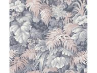 Cole & Son WP: Martyn Lawrence Bullard Royal Fernery 113/3010.CS.0 Slate Blue & Blush Pink