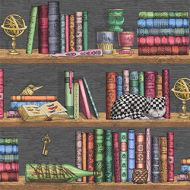Cole & Son WP: Fornasetti Libreria 114/1302.CS.0 Rich Multi