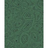 Cole & Son WP: Fornasetti Malachite 114/17035.CS.0 Emerald/Black