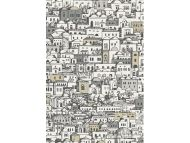 Cole & Son WP: Fornasetti Mediterranea 114/7013.CS.0 White & Metallic