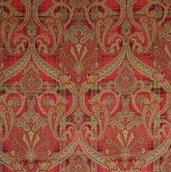 Scalamandre: Highland Fling 16316-001 Reds & Pink