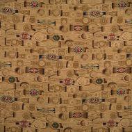Scalamandre: Havana 16319-001 Tobacco Leaf