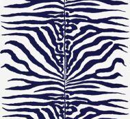 Scalamandre: Zebra 16366M-004 Navy