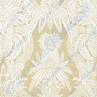 Scalamandre: East India 16482-003 Beige e Bianco