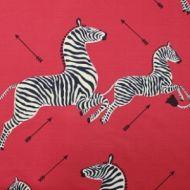 Scalamandre: Zebras SC 0001 16496M Masai Red