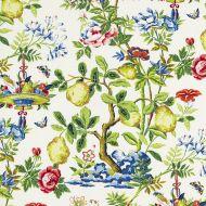 Scalamandre: Shantung Garden 16583-001 Bloom
