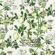 Scalamandre: Shantung Garden 16583-003 Verdance