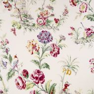 Scalamandre: Somerset Linen Print 16584-001 Bloom