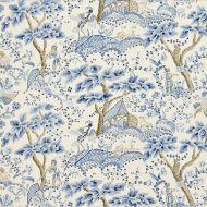 Scalamandre: Kelmescott  Hand Block Print 16590-001 Porcelain
