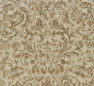 Scalamandre: Palladio Velvet Damask 16592-002 Burnished Gold