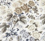 Scalamandre: Highgrove Linen Print SC 0001 16595 Winter Sky