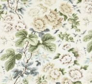 Scalamandre: Highgrove Linen Print 16595-002 Rich Cream