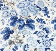 Scalamandre: Highgrove Linen Print 16595-004 Porcelain
