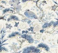 Scalamandre: Shenyang Linen Print 16601-002 Porcelain