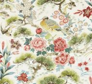Scalamandre: Shenyang Linen Print SC 0003 16601 Bloom