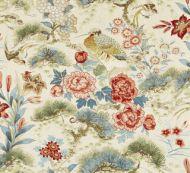 Scalamandre: Shenyang Linen Print SC 0004 16601 Sandalwood