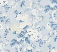 Scalamandre: Ascot Linen Print 16602-002 Sky