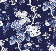 Scalamandre: Ascot Linen Print 16602-004 Indigo