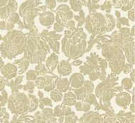 Scalamandre: Elsa Linen Print SC 0001 16606 Burnished Gold