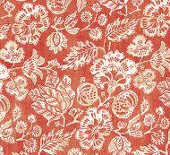 Scalamandre: Calais Linen Print 16607-003 Coral
