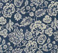 Scalamandre: Calais Linen Print 16607-004 Indigo