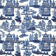 Schumacher: Nanjing 174431 Porcelain
