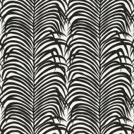 Schumacher: Zebra Palm 174872 Ebony