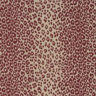 Schumacher: Iconic Leopard 175726 Raisin/Natural
