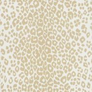 Schumacher: Iconic Leopard Indoor/Outdoor 177321 Linen