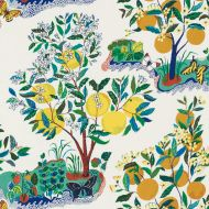Josef Frank for Schumacher: Citrus Garden Indoor/Outdoor 177330 Primary