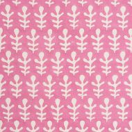 Molly Mahon for Schumacher: Bagru 179240 Pink