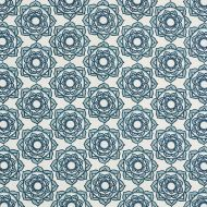 Molly Mahon for Schumacher: Rose 179290 Blue
