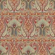 Suzanne Kasler for Lee Jofa: Alsace Paisley 2014124.954 Red/Blue