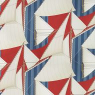 Suzanne Kasler for Lee Jofa: St Tropez Print 2018136.195.0 Red/Blue