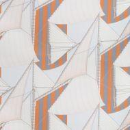 Suzanne Kasler for Lee Jofa: St Tropez Print 2018136.225.0 Slate/Spice