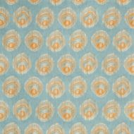 Suzanne Kasler for Lee Jofa: Monaco Print 2018141.125.0 Aqua/Melon
