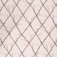 Paolo Moschino for Lee Jofa: Twig Trellis 2020166.166.0 Brown/Ecru