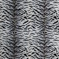 Scalamandre: Tigre SC 0005 26167MMA Silver & Black