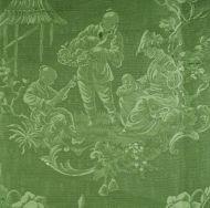 Scalamandre: Racconigi 26259-002 Verde Foglia