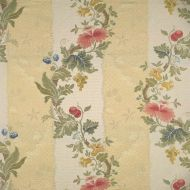 Scalamandre: Villa Lante Stripe 26401-001 Multi on Jasmine & Bisque