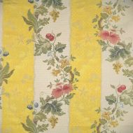 Scalamandre: Villa Lante Stripe 26401-004 Multi on Yellow & Bisque