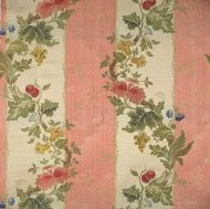 Scalamandre: Villa Lante Stripe 26401-006 Multi on Rose