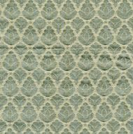 Scalamandre: Rondo CL 0011 26714 Aquamarine & Ivory