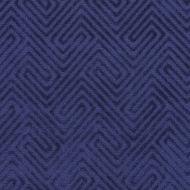 Scalamandre: Meander Velvet SC 0004 27060 Navy