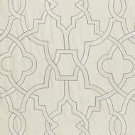 Scalamandre: Damascus Embroidery SC 0001 27073 Alabaster