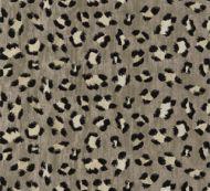 Scalamandre: Broderie Leopard SC 0003 27075 Ebony on Silver